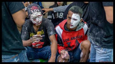 Tradisi Gabyuran Kampung Bustaman Semarang