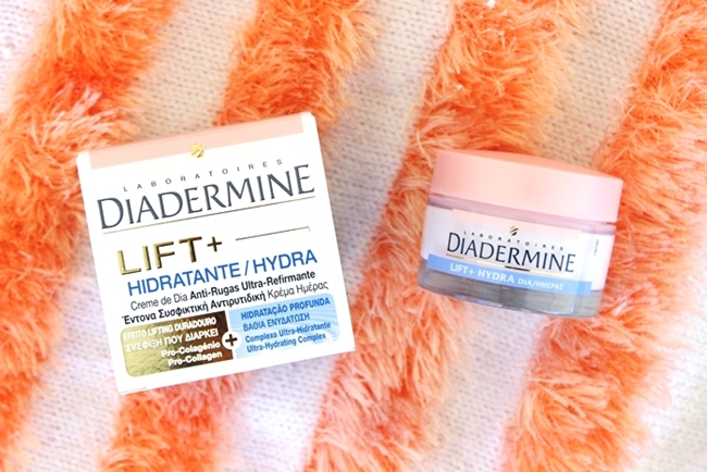 Diadermine LIFT+ hydration hydrating anti-wrinkle day cream with pro-collagen and ultra-hydrating complex