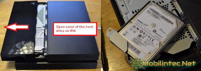 PS4 could not turn on due to problematic hard disk