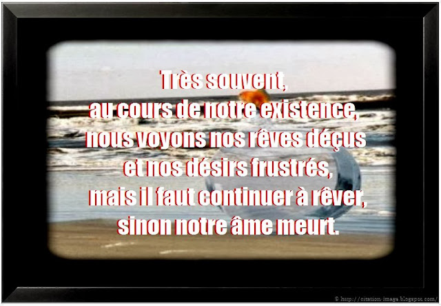 Citation sur l'existence en image