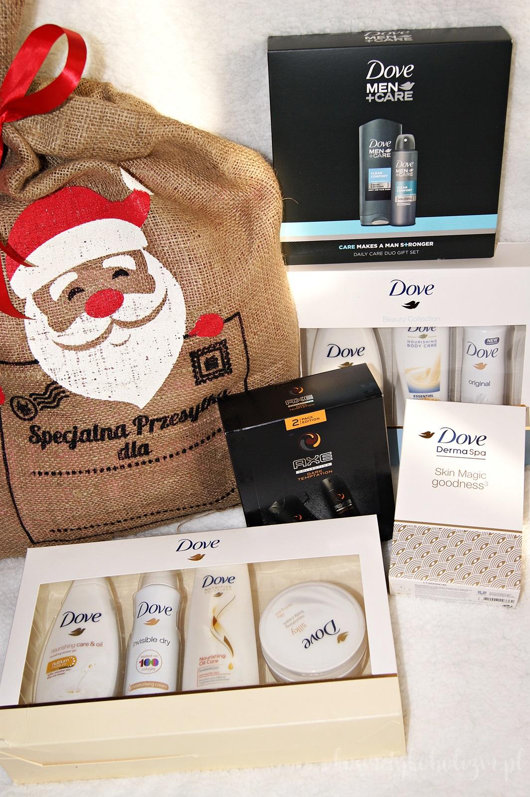 Magiczny czas pełen prezentów | Dove, Axe Rexona