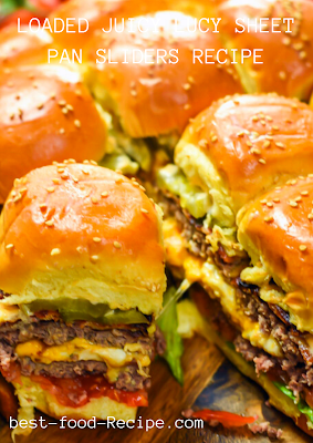LOADED JUICY LUCY SHEET PAN SLIDERS RECIPE