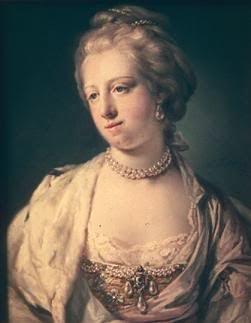 Caroline Mathilde by Francis Cotes
