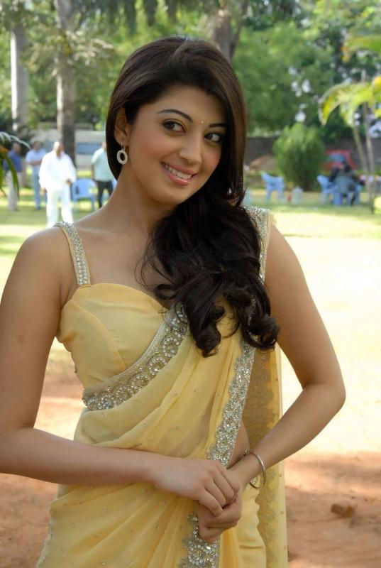 Pranitha Hot in Yellow...