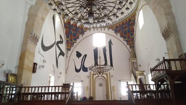 İsmail Bey Camisinin içi. - Kastamonu