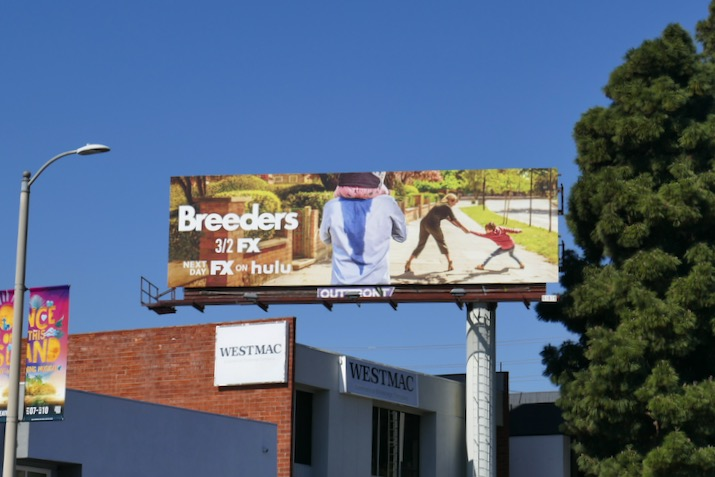 Breeders series launch billboard