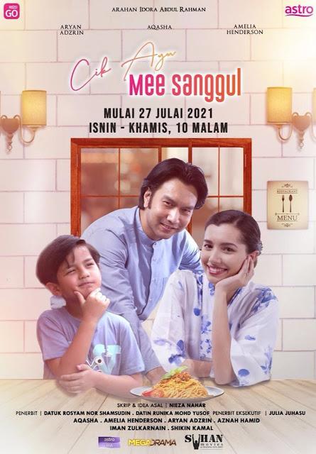 Drama Cik Ayu Mee Sanggul Di Astro Ria (Slot Megadrama)
