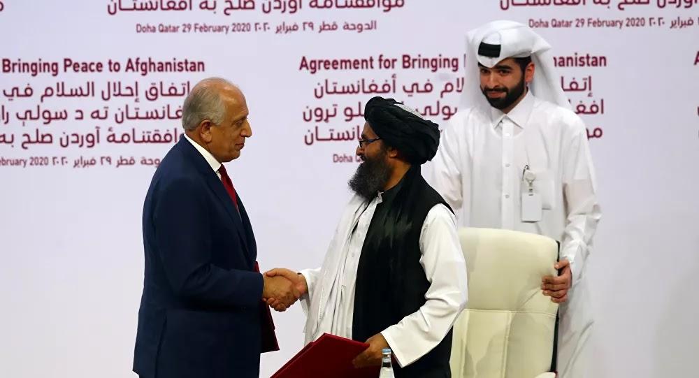 واشنطن تبلغ أفغانستان بقرار مراجعة الاتفاق المبرم مع طالبان