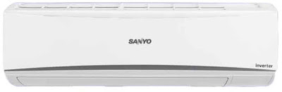 Sanyo 1 Ton 5 Star Inverter Split AC (Copper, SI/SO-10T5SCIA, White)
