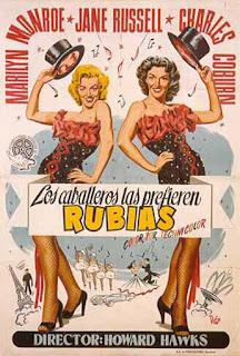 Marilyn Monroe, Jane Russell, Howard Hawks, Charles Coburn