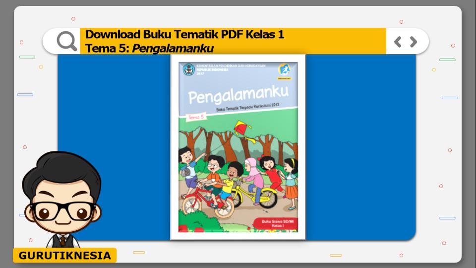 download buku tematik pdf kelas 1 tema pengalamanku