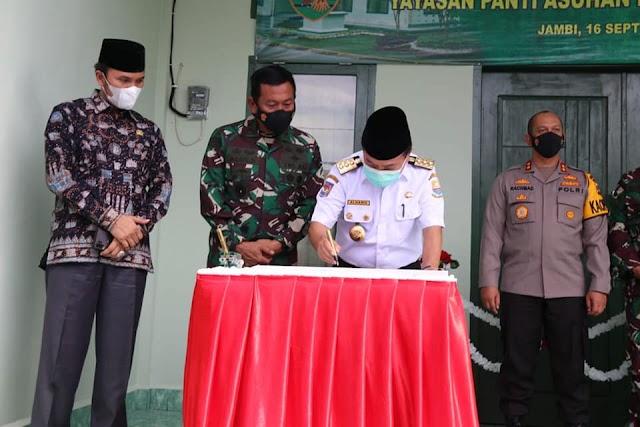 Gubernur Jambi Alharis Siapkan Bantuan dan Pendidikan Anak Panti Asuhan