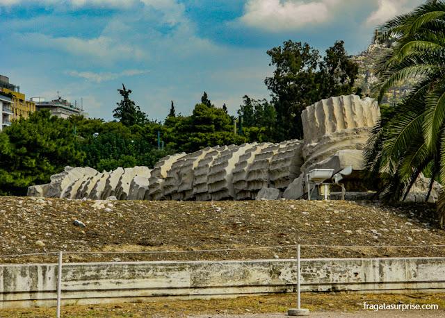 Atenas - Templo de Zeus Olímpico