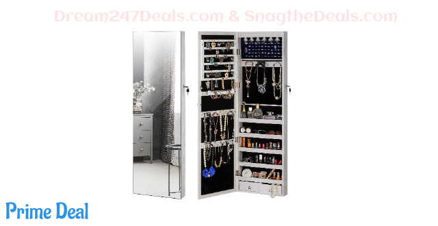 Jewelry Mirror Armoire Cabinet 24%OFF