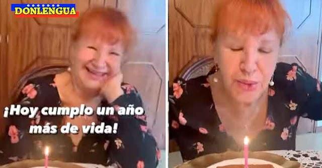 FELIZ ANIVERSARIO | Tania Sarabia celebró con alegría sus 74 años