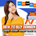 How to Buy a Domain Name Using GCash AMEX Card that is linked to PayPal
