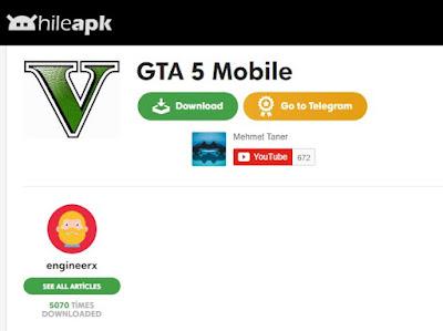 Hileapk.com GTA APK 2021