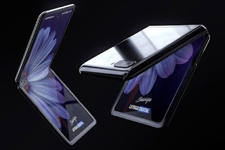 handphone samsung galaxy z flip terbaru 2020