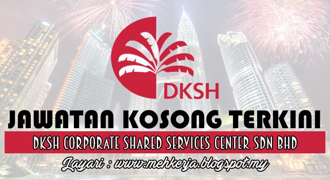 Jawatan Kosong Terkini 2016 di DKSH Corporate Shared Services Center Sdn Bhd