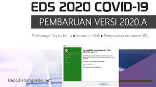Langkah Aman Instal Pembaruan Aplikasi EDS Patch 2020.A