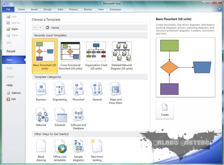 Microsoft Visio 2010 Full + Serial tutorial instalasi