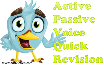Class 8/9/10 - English - 1 Hour Quick Exercise to Revise Active - Passive Voice (#cbseNotes)