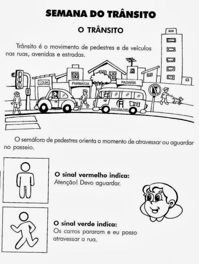 Muitas vezes ALFABETIZAÇÃO DIVERTIDA: ATIVIDADES SOBRE TRÂNSITO RO69