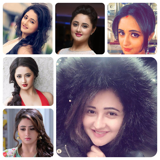 Rashami Desai Hairstyles