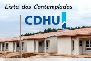 CDHU libera lista oficial das famílias contempladas do Habitacional Registro E