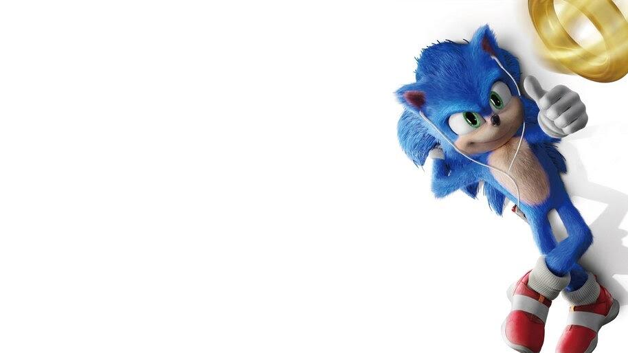 Sonic the Hedgehog, Movie, 2020, Poster, 4K, #5.1450