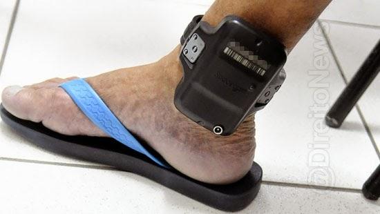 juiz desobriga tornozeleira eletronica preso emprego