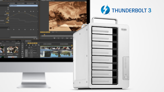 Terratec Fast Dual 40 Gbps 8-bay D8 Thunderbolt 3