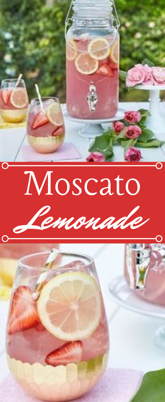 Moscato Lemonade #drink #lemonade #smoothie #cocktail #party