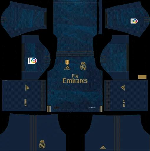 Download Kit DLS Real Madrid Away 2019 - 2020