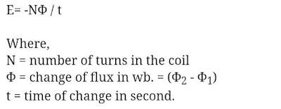 faraday's law of electromagnetic induction   definition for electromagnetic induction