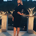Ciara And Her Baby Bump, Gorgeous In Black