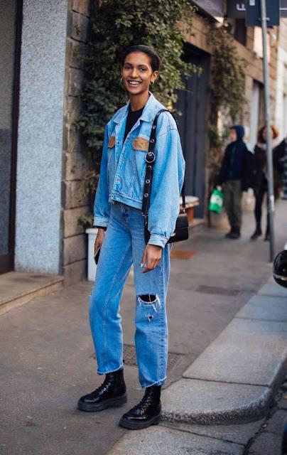 Cómo se llevan los jeans rectos