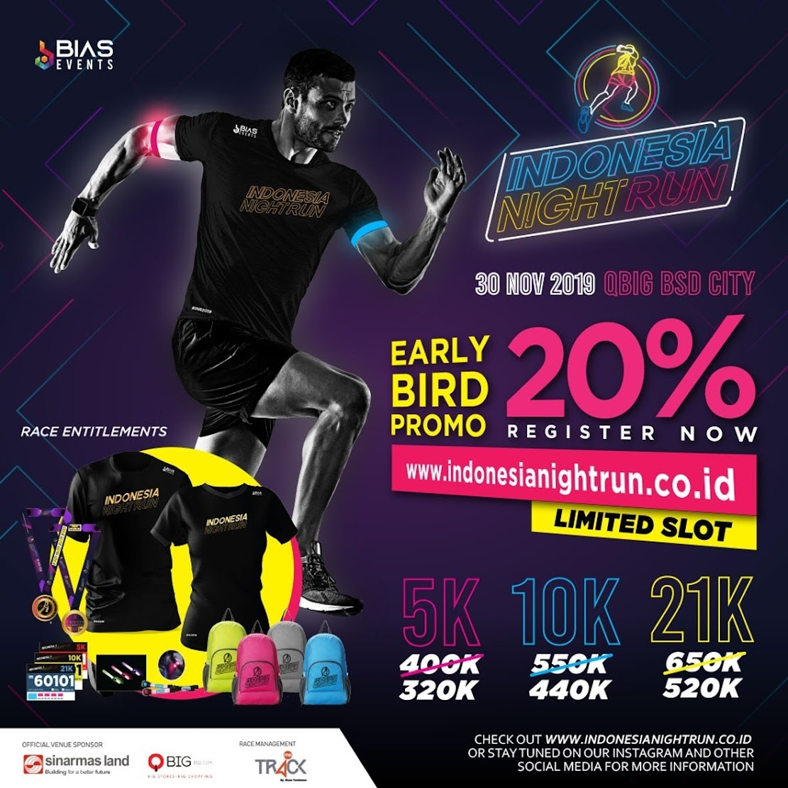 Indonesia Night Run • 2019