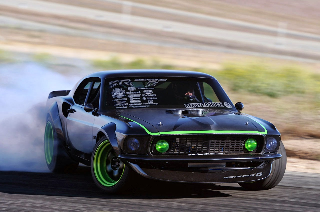 Ford Mustang Fastback >> Modified Cars +: Vaughn Gittin Jr's 1969 RTR-X Mustang