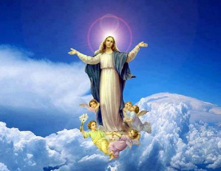 Hari Raya Santa Perawan Maria Diangkat Ke Surga Gereja St Ambrosius