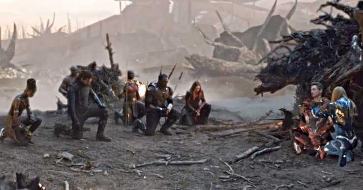 Avengers: Endgame iron man death scene deleted scene