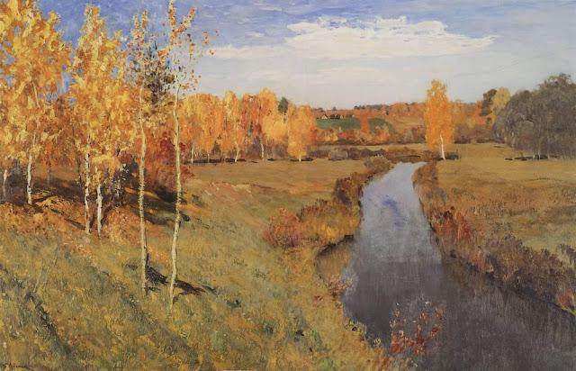 Исаак Ильич Левитан - Золотая осень. 1895