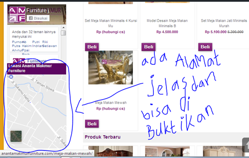 website toko memebel furniture jepara