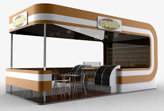 kiosk interior designers and manufacturer