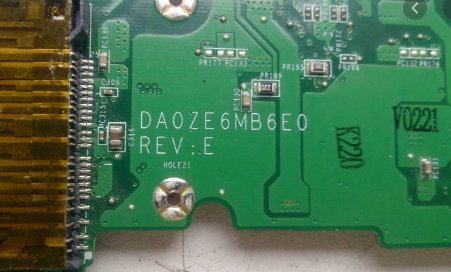 DA0ZE6MB6E0 REV E ACER AO HAPPY2 Aspire One D257 Laptop Bios