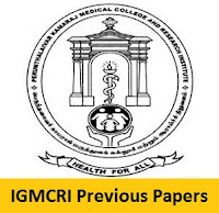IGMCRI Previous Papers