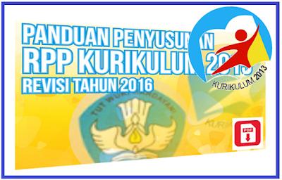Download Format Baru RPP Kurikulum 2013 Revisi Tahun 2016 All Jenjang