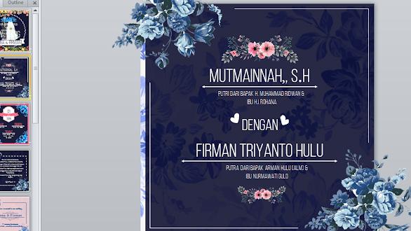 Download Template Ppt Vedio Undangan Pernikahan Gratis Mediasiana Com Media Pembelajaran Masakini