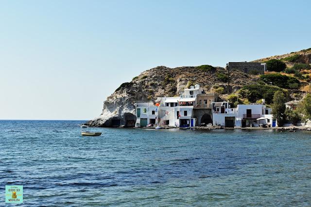 Skinopi, isla de Milos (Grecia)