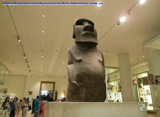 Moai de la Isla de Pascua en el British Museum